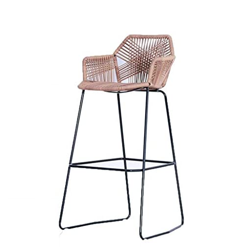 Astounding Lrzs Furniture Wicker Chair High Table And Chairs Outdoor Bar Table And Chairs Bar Stool Bar Front Desk Chair Rattan High Chair Leisure Balcony Chair Gmtry Best Dining Table And Chair Ideas Images Gmtryco
