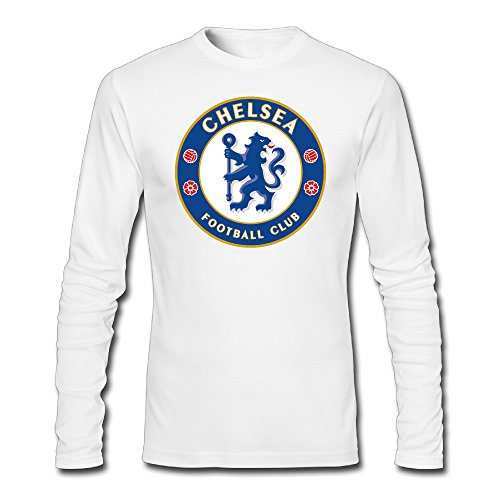 Men Chelsea FC Football Club Tshirt Long Sleeve