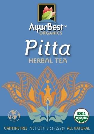 Pitta Herbal Tea USDA Certified Organic, Net Wt. 8 oz (227g), Loose Tea