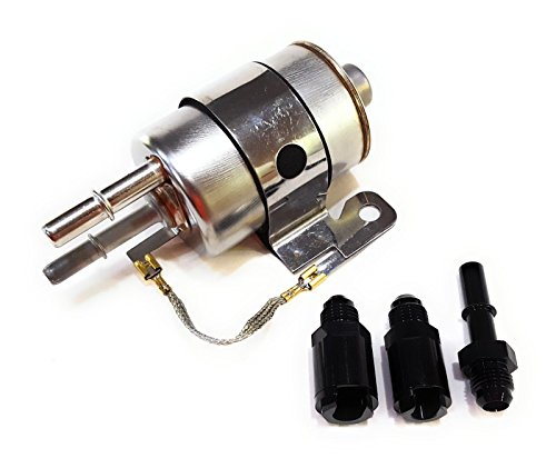 Goodies Speed 75116 - Fuel Filter/Regulator 58 PSI Kit with AN-6 Fittings for LS swaps and EFI conversion