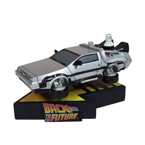 Statue Movie - Factory Entertainment Back to The Future II Flying Delorean Premium Motion Statue