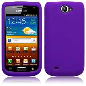Silicone Skin By Terrapin - Purple for Samsung Galaxy W i8150