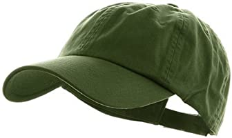 MG Low Profile Dyed Cotton Twill Cap - Cactus OSFM