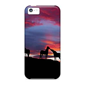 Premium Hangout Night Heavy-duty Protection Cases For Iphone 5c