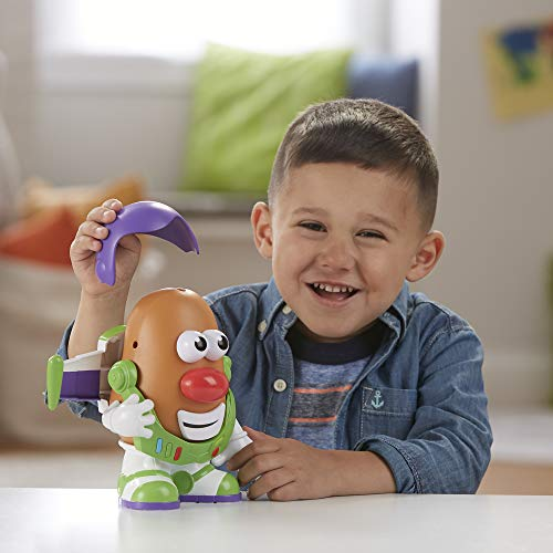 41qwy9q1JOL - Mr Potato Head Disney/Pixar Toy Story 4 Spud Lightyear Figure Toy for Kids Ages 2 & Up