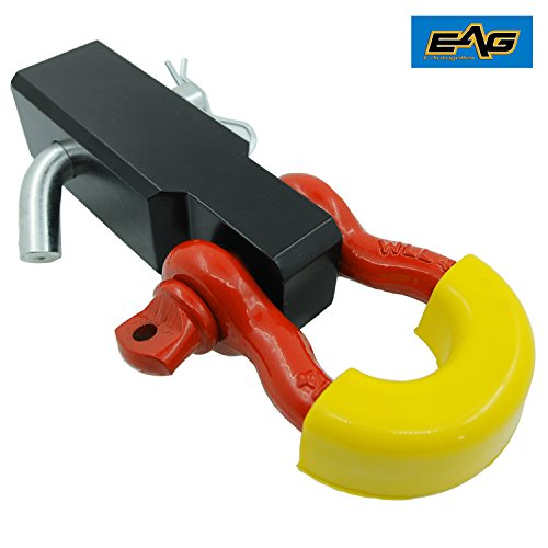 ch Reciever D-Ring Shackle with Yellow Isolator ()