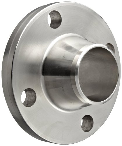 Stainless Steel 316/316L Weld Neck Pipe Fitting, Flange, Schedule 40, Class 150, 1-1/2