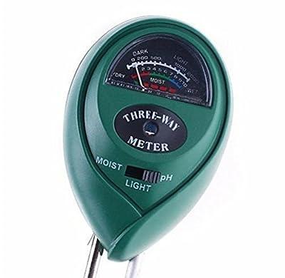 3 in1 Soil Hydroponic Tester Meter for Moisture Light PH