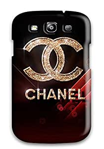 [EqCGyjg11970tjGPI]premium Phone Case For Galaxy S3/ Chanel Logo Tpu Case Cover