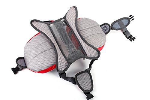 Pettom Dog Saddle Bag Backpack Pet Tripper Hound Bag for Outdoor Travel Hiking Camping (Orange, S)
