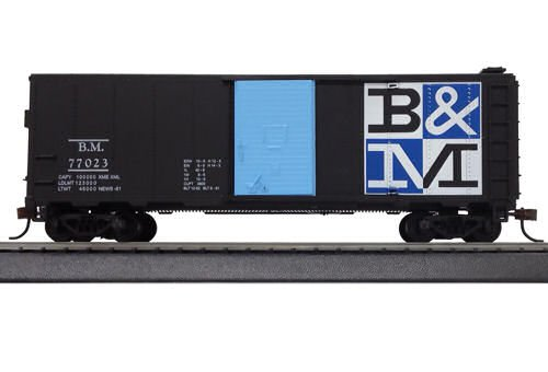 734530 41` Steel Box B&M Checkerboard HO