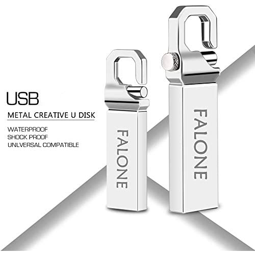 METAAN 512GB USB Flash Drive Metal Pen Drive Waterproof Thumb U Disk Memory Stick for Computer