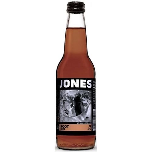 Jones Root Beer Soda, 12 Ounce - 4 per pack - 6 packs per case.