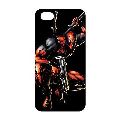 Deadpool Wallpaper Marvel 3D Phone Case For IPhone 5S
