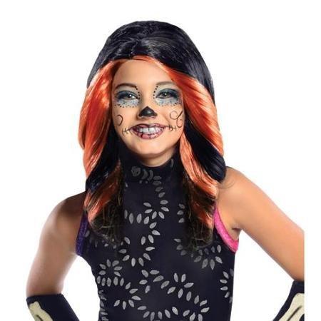 Skelita Calaveras Wig Costume Accessory ()