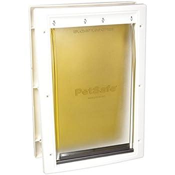Amazon Com Petsafe Extreme Weather Door Medium White