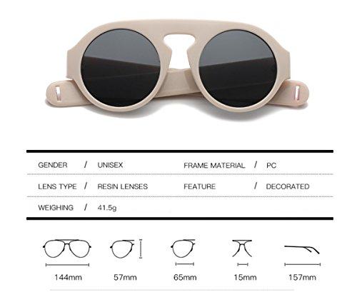 Alrededor Moda De Marco Mujeres Gafas Gran Y Mismo De Hombres Párrafo Sol XGLASS Gafas E De El Con De Sol De 4tSFqCq