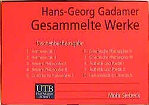 Gesammelte Werke: 10 Bde. (Uni-Taschenbücher S) (UTB S (Small-Format) / Uni-Taschenbücher)