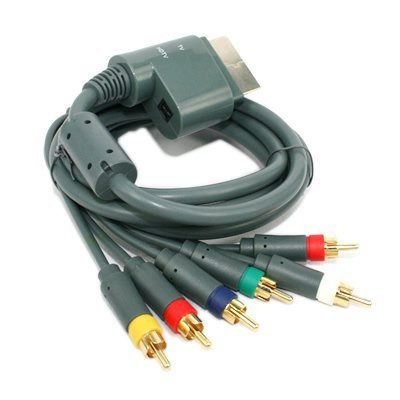 NEW Xbox 360 Component HDAV High Definition HD AV Cable ()