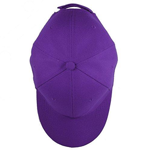 Gelante Plain Blank Baseball Caps Adjustable Back Strap Wholesale Lot 6 Pack
