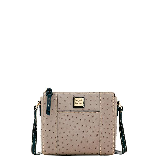 Bourke Ostrich - Dooney & Bourke Ostrich Lexington Crossbody Shoulder Bag