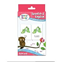 Brainy Baby Spanish and English Flash Card Set: Simple Words and Phrases