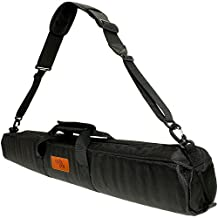 Optix Pro 80cm Padded Travel Carrying Bag with Shoulder Strap for Manfrotto Tripods including Befree Light, Compact Action & Advanced, 190 XPRO, 055 XPRO, Lightweight Fluid Video, 290 XTRA, 545B Pro Heavy