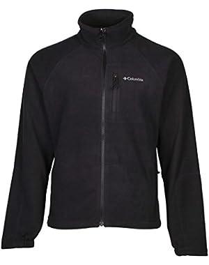 Men's Fleece Falls II Full Zip Jacket-Off-Black