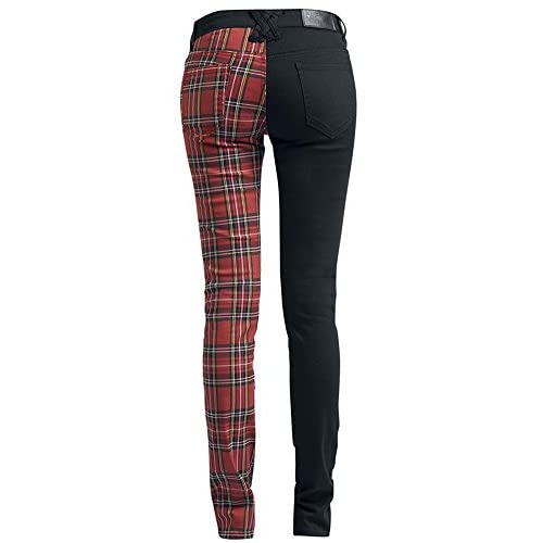 Where to buy plaid skinny jeans