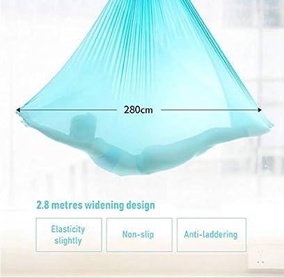 EASON Hamaca Yoga aérea, Micro-elástico de Seda Honda antigravedad ...