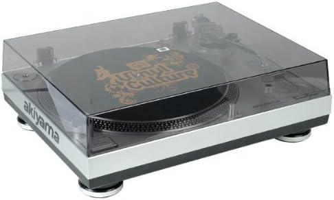 Akiyama DJ2000USB - Giradiscos profesional, plata: Amazon.es ...