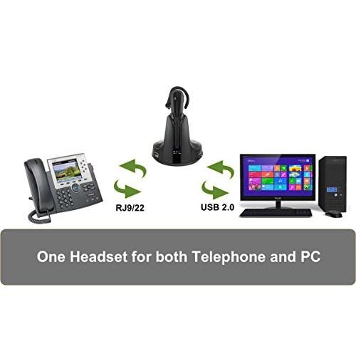 Cisco Phone and PC Wireless Headset Bundle VXi V200 | Cisco
