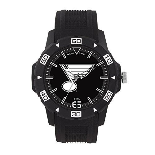 NHL St. Louis Blues Mens Automatic Series Wrist Watch, Black, One Size