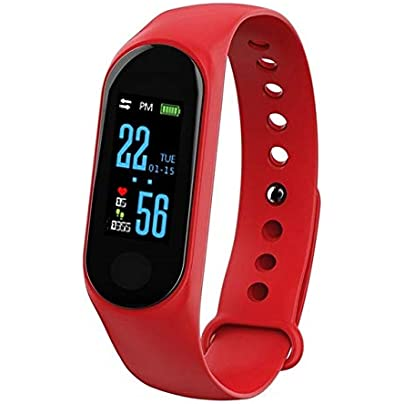 DMMDHR Waterproof Wristband 0 96 Inch Display Screen Smart Band Sport Heart Rate Monitor Smartband Fitness Tracker Smart Bracelet Estimated Price £49.10 -