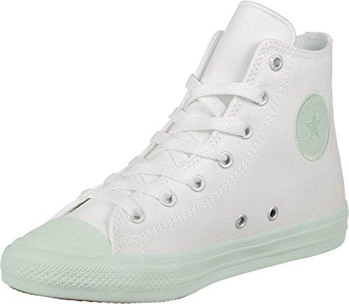 adidas Chuck Taylor all Star II High, Scarpe da Basket Unisex-Bambini White/Fiberglass
