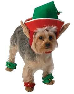 Go Dog Holiday Elf Dog Costume - XLarge