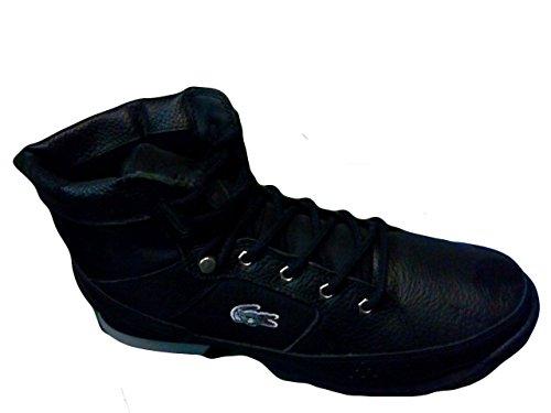 Lacoste Mens Vezelay Eo Sneaker, Zwart / Donkergroen, 8 M Us