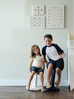 Kore Patented WOBBLE Chair, Active sitting for Toddler, Pre-School, Kids, and Teens - The Chair That Rocks! - Made in the USA