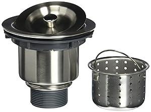 Zuhne Exo Stainless Steel Kitchen Sink Basket Strainer Set for ...
