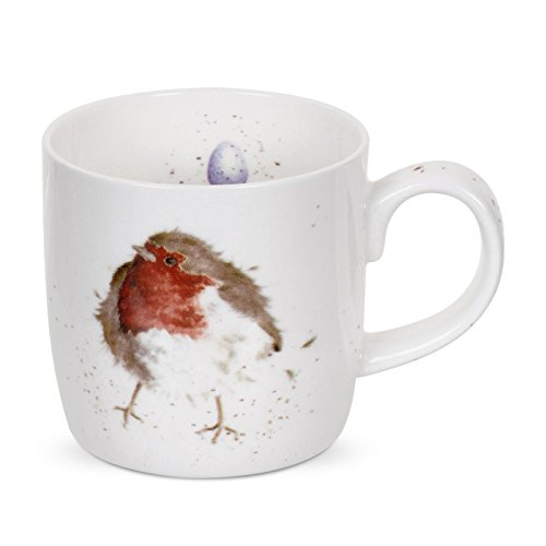 Wrendale by Royal Worcester Garden Friend Robin Single Mug by Wrendale by Royal Worcester