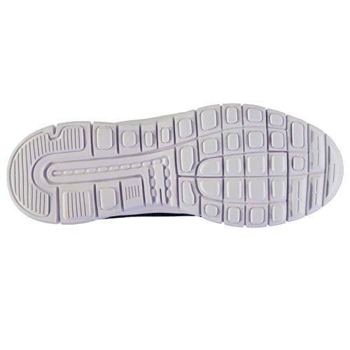 Kappa Hombre Faroe Zapatillas Zapatos Con Cordones Lengüeta Acolchada Calzado Navy/White
