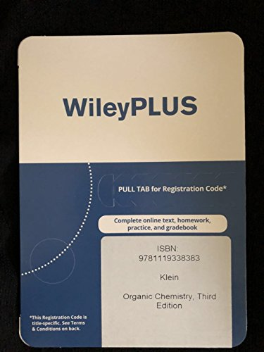 Organic Chemistry, Third Edition EPUB WileyPLUS Card