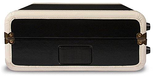 Crosley CR6019D-BK Executive Portable USB Turntable with Bluetooth, Black