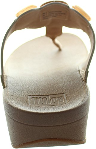 Fitflop Honeybee Jewelled Mujer Sandalias Natural