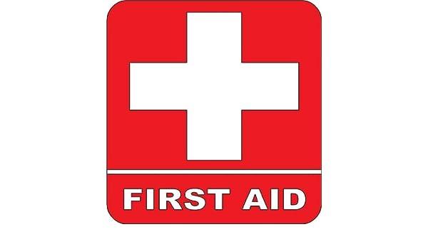 First aid Kit Emergency Symbol Logo sticker Picture Art