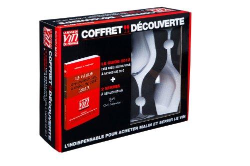Coffret découverte: 1 guide rouge 2013 + 2 verres à dégustation Chef & Sommelier Antoine Gerbelle