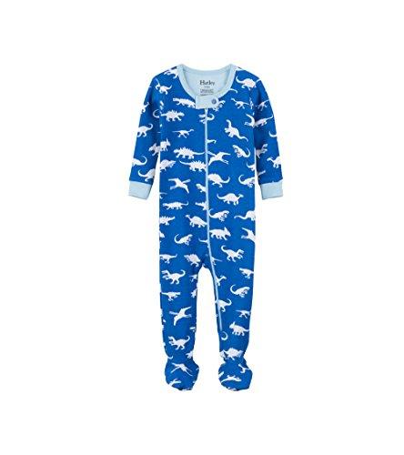 Hatley Baby Boys Organic Cotton Footed Sleeper, Dinosaur Menagerie, 0-3 Months Dinosaur Footed Sleeper