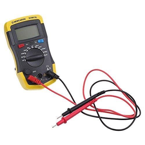 LCD Digital Meter XC6013L Capacitance Capacitor Tester mF uF Circuit Gauge Capacitance Meter Tester