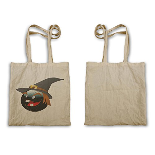 Smiley Sassy Halloween Face Novità Funny Art Carry Bag A258r
