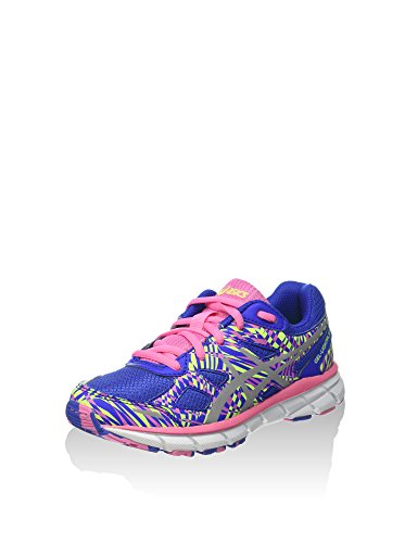 Asics Gel-lightplay 2 GS, Chaussures de Running Entrainement Mixte Adulte Blau/Rosa/Limette